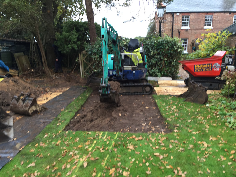 Domestic Groundwork Project - Sussex Landworks