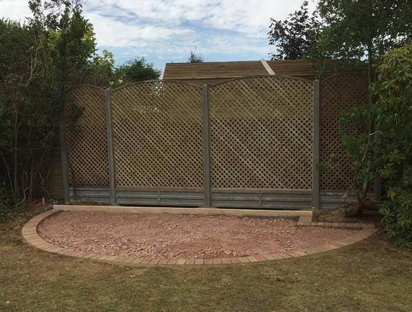 Fencing, Trellis, gates - hard landscaping services from Sussex Landworks